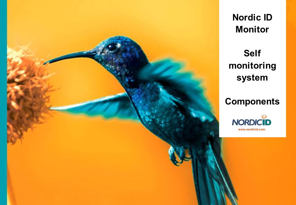 Nordic ID Monitor Self monitoring system Components