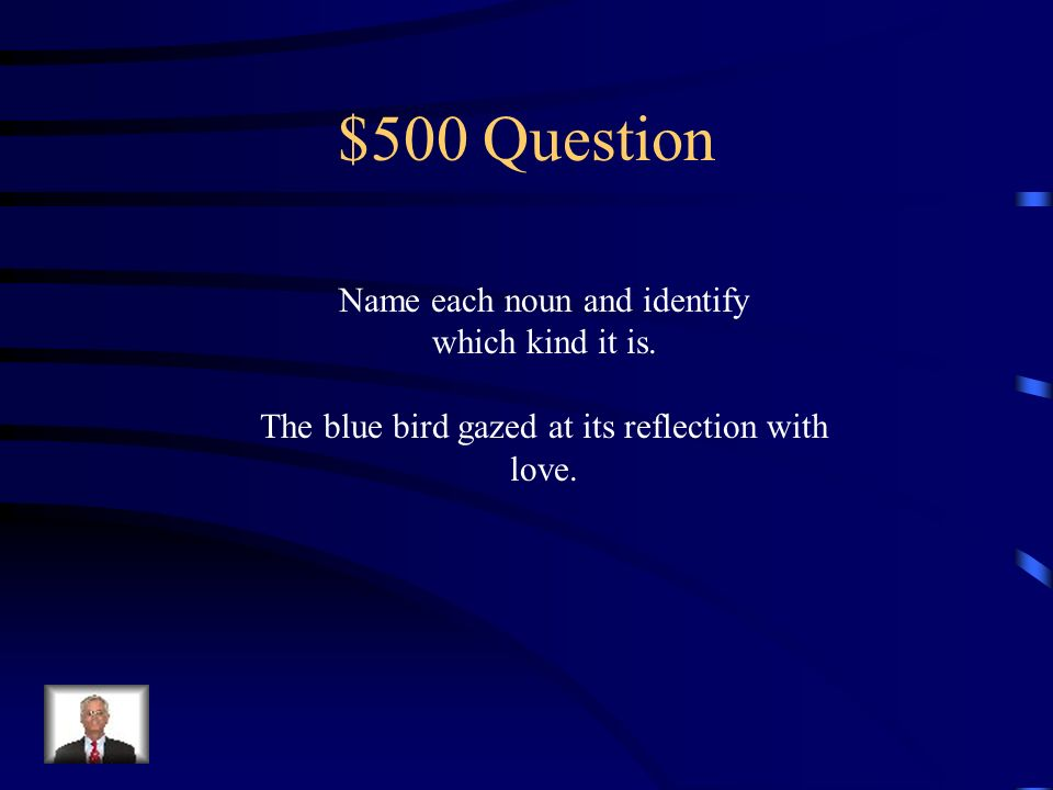 $400 Answer Julie, goldfish, present, mother