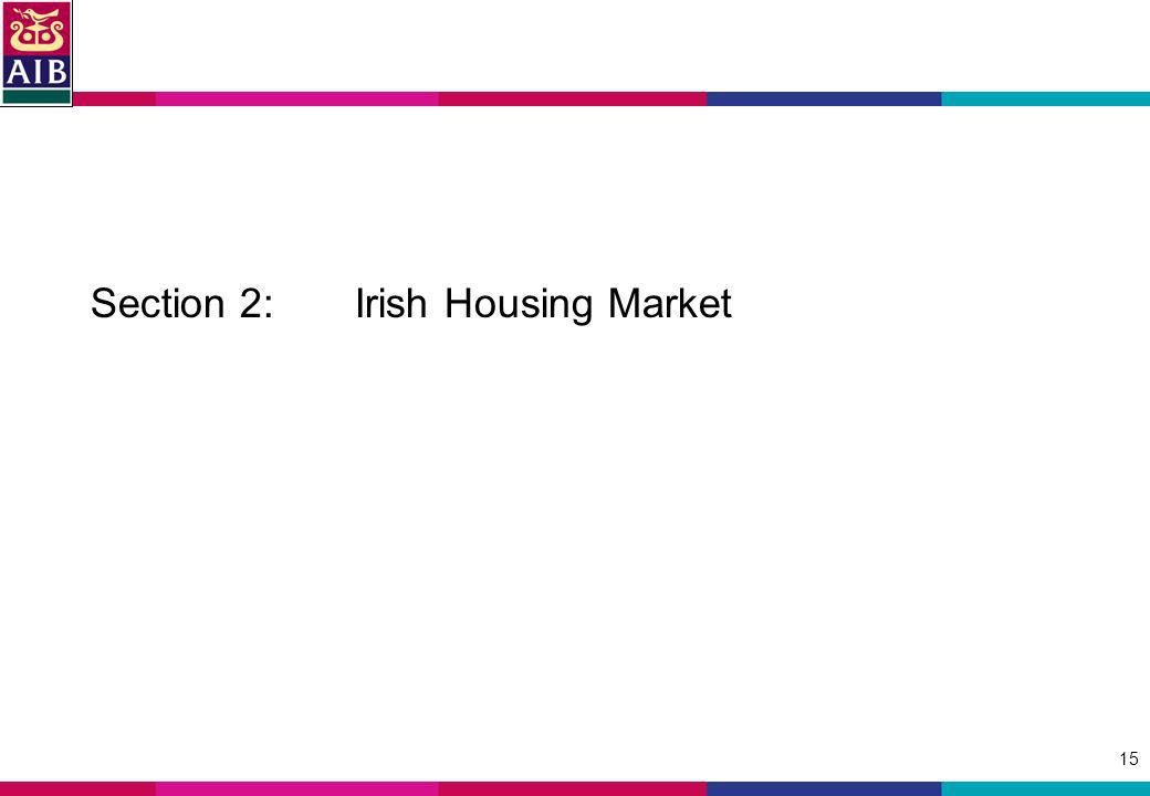 15 Section 2: Irish Housing Market