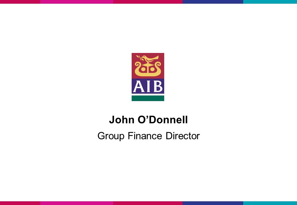 John ODonnell Group Finance Director