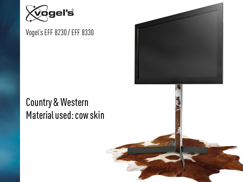Vogels EFF 8230 / EFF 8330 Country & Western Material used: cow skin