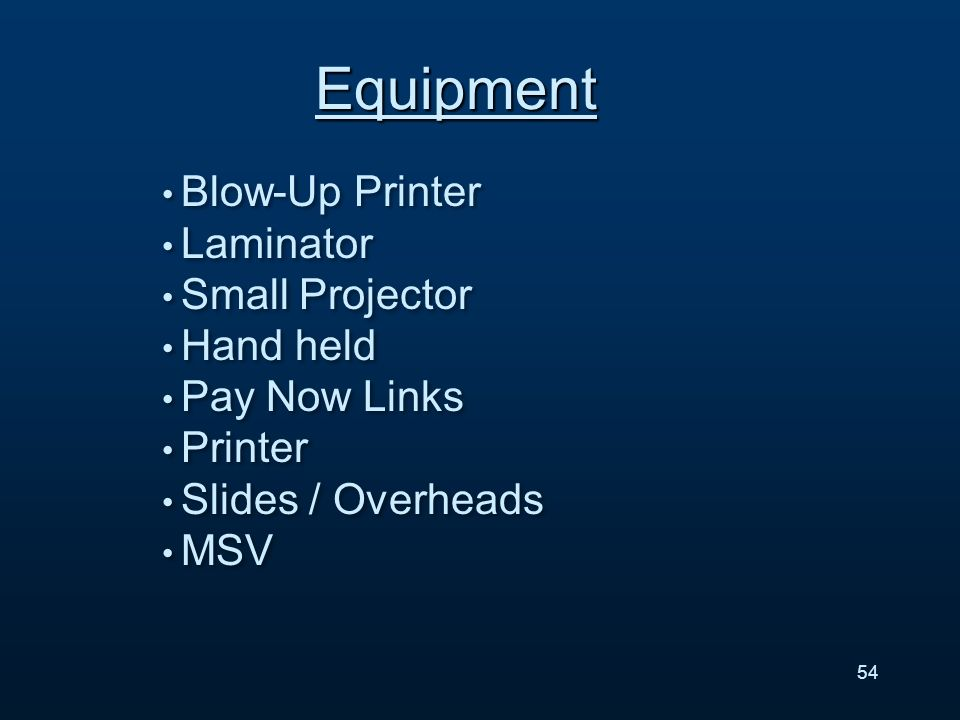 Blow-Up Printer Laminator Small Projector Hand held Pay Now Links Printer Slides / Overheads MSV Blow-Up Printer Laminator Small Projector Hand held Pay Now Links Printer Slides / Overheads MSV Equipment 54