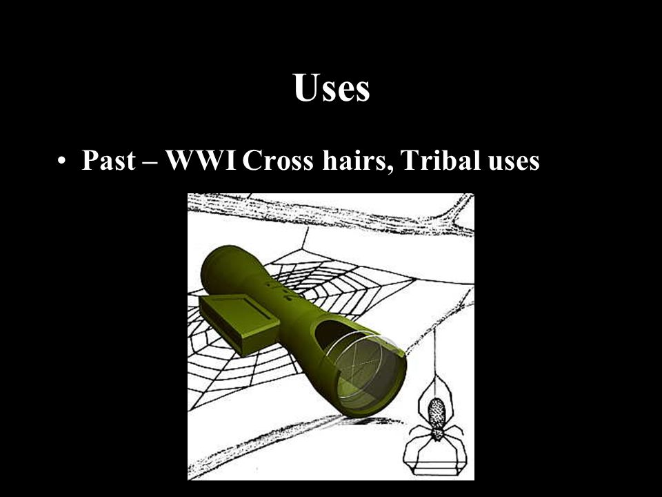 Uses Past – WWI Cross hairs, Tribal uses