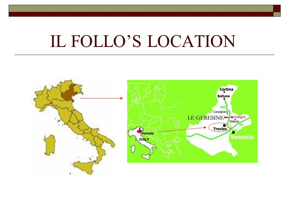IL FOLLOS LOCATION