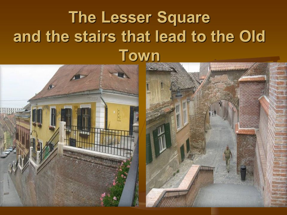 The Lesser Square and the stairs that lead to the Old Town