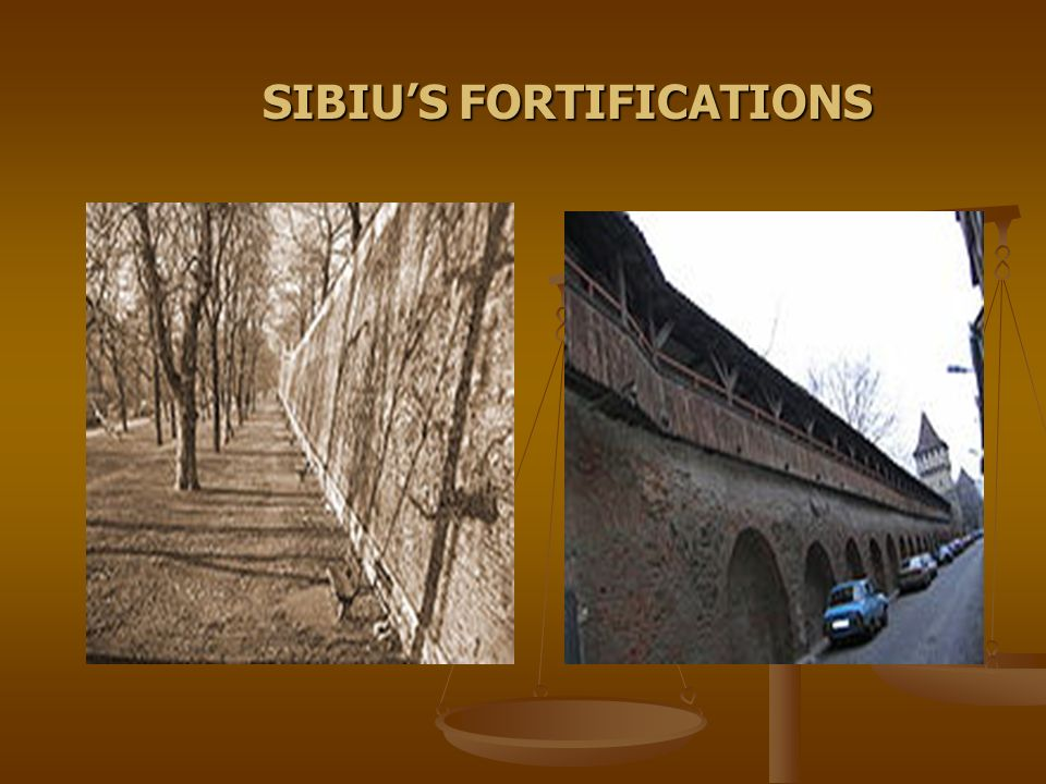 SIBIUS FORTIFICATIONS