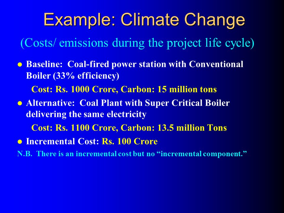 Typical GEF Projects for Climate Change 1. Energy Efficiency (Operational Prog.