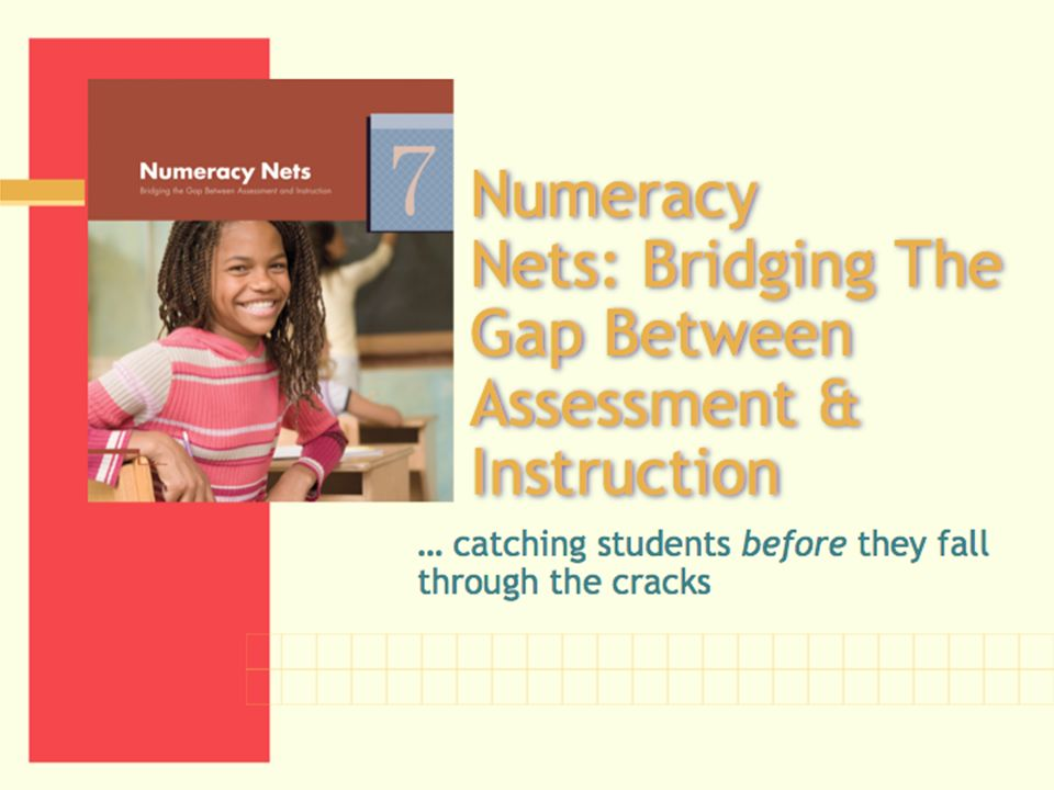 Numeracy Nets: Bridging The Gap Between Assessment & Instruction
