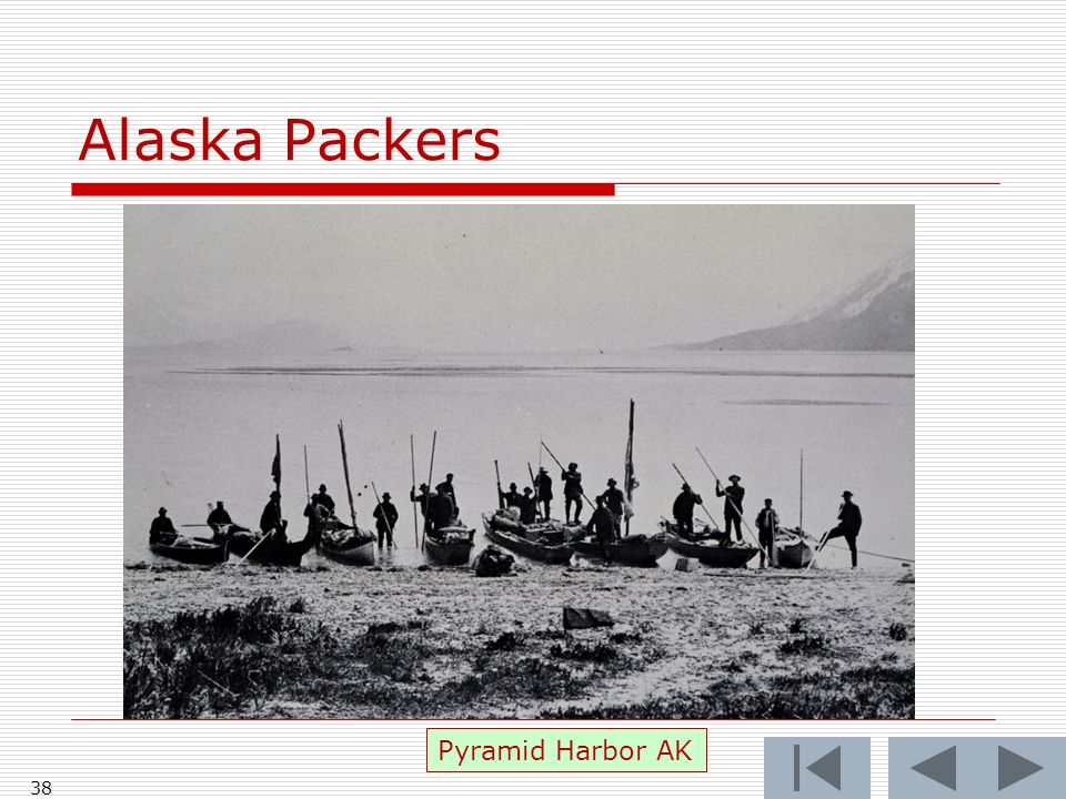 Alaska Packers 38 Pyramid Harbor AK