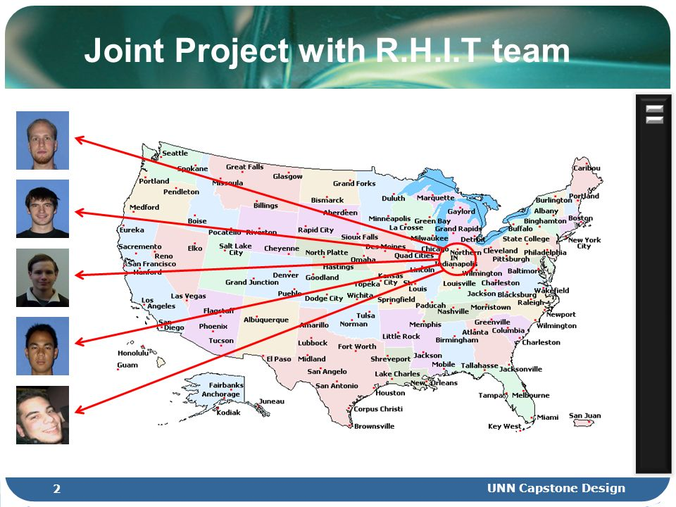 2 UNN Capstone Design Joint Project with R.H.I.T team