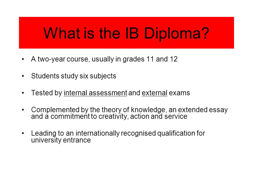 IB Learners Profile IB STUDENTS STRIVE TO BE Inquirers Knowledgeable Thinkers Communicators Principled Open-minded Caring Risk-takers Balanced Reflective
