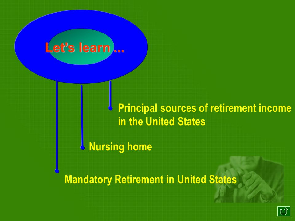 Retirement Plans In the United Kingdom, most men retire from their employment at the age of sixty-five.
