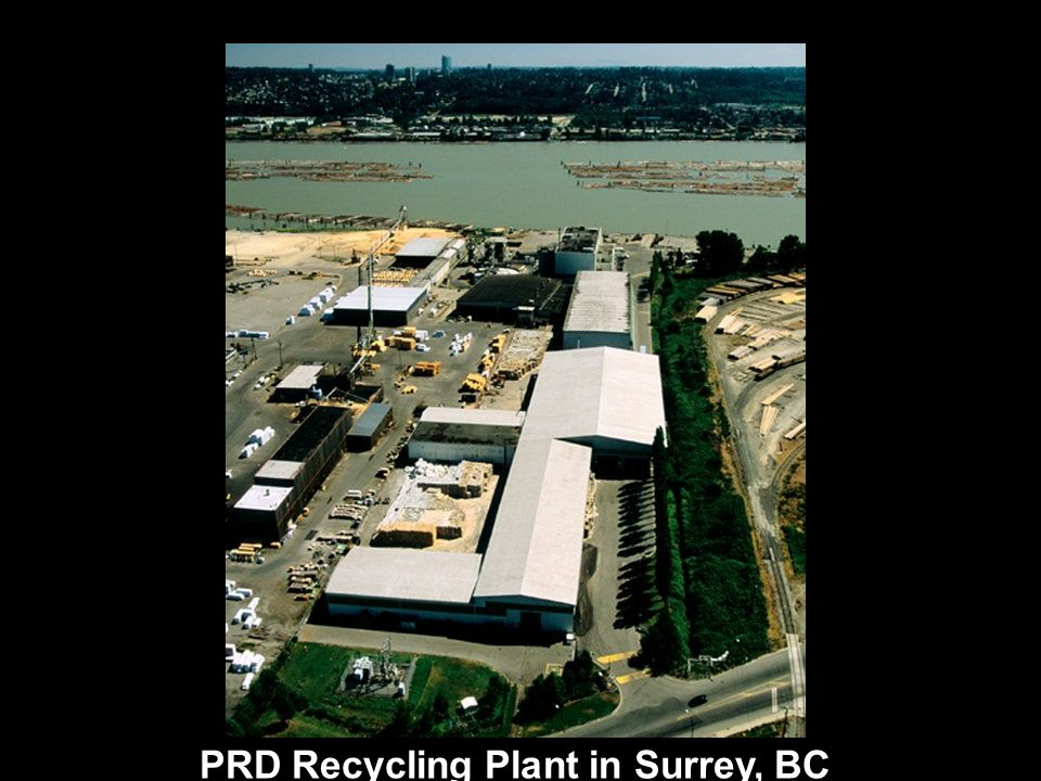 PRD Recycling Plant in Surrey, BC