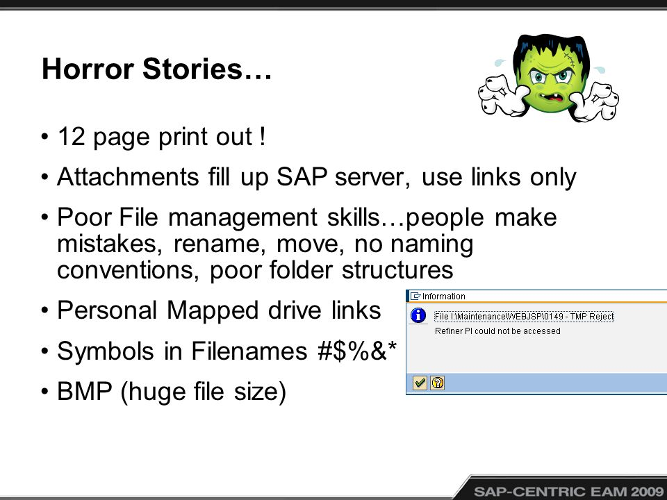 Horror Stories… 12 page print out .