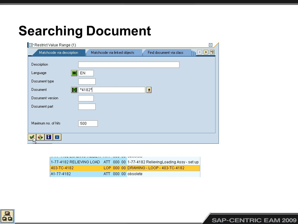 Searching Document