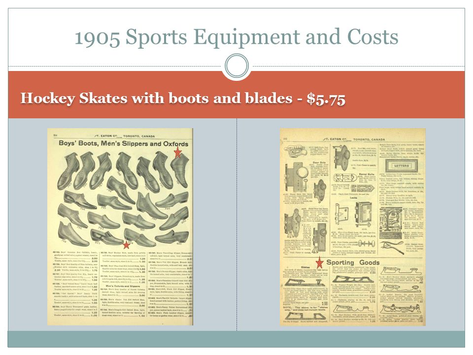 Hockey Skates with boots and blades - $ Sports Equipment and Costs