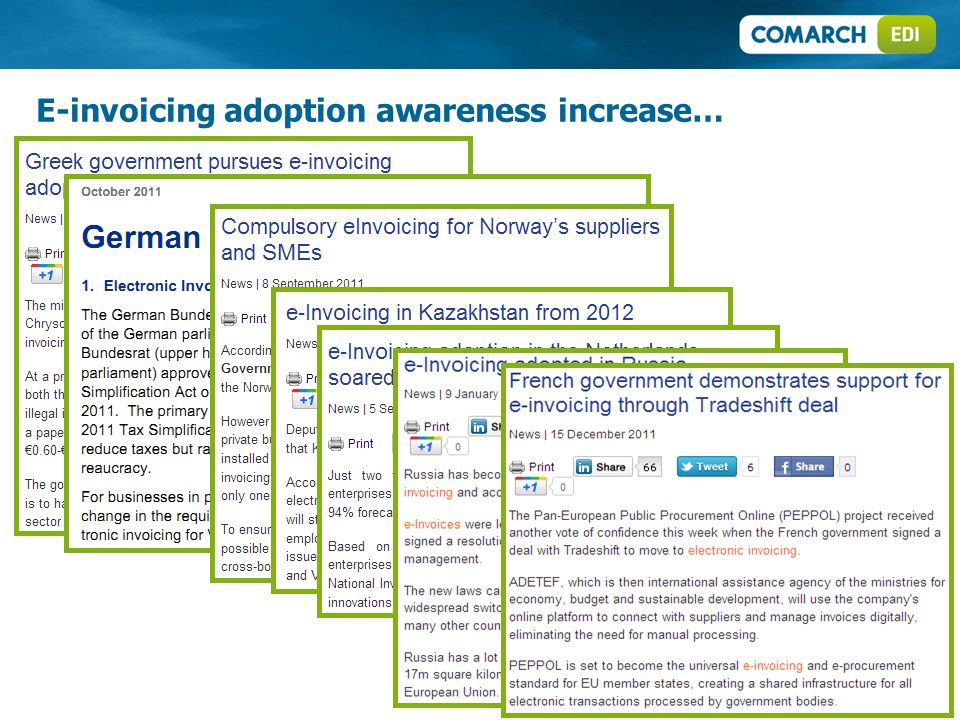 E-invoicing adoption awareness increase…