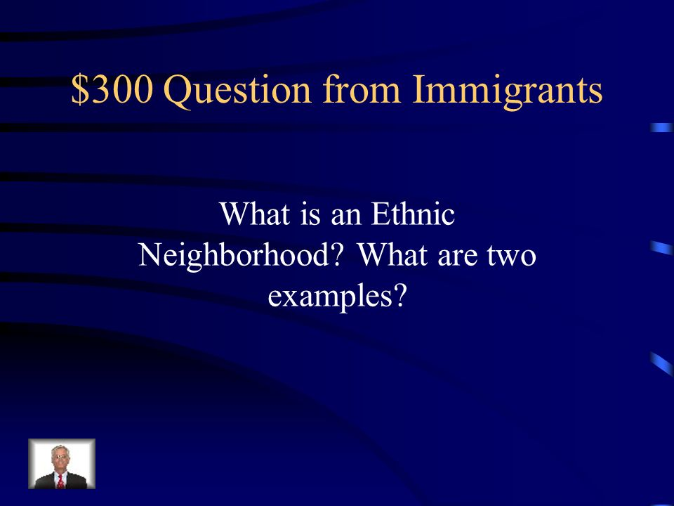 $200 Answer from Immigrants Ellis Island, Angel Island, and San Antonio, Texas