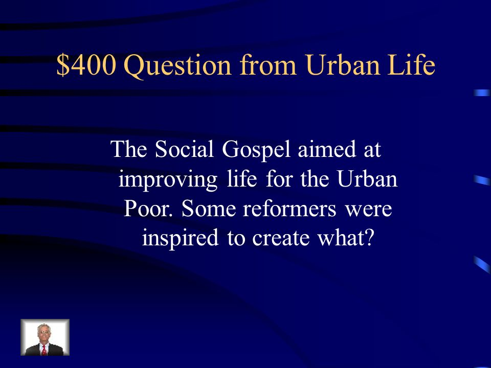 $300 Answer from Urban Life A neighborhood that is overcrowded and has dangerous housing.