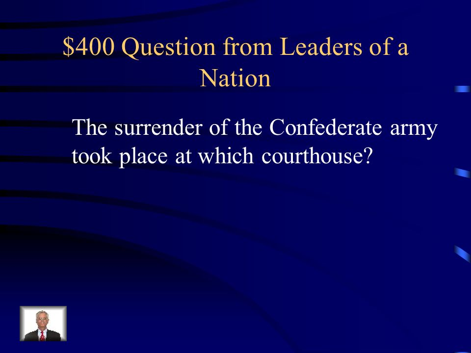 $300 Answer from Leaders of a Nation What was The Emancipation Proclamation