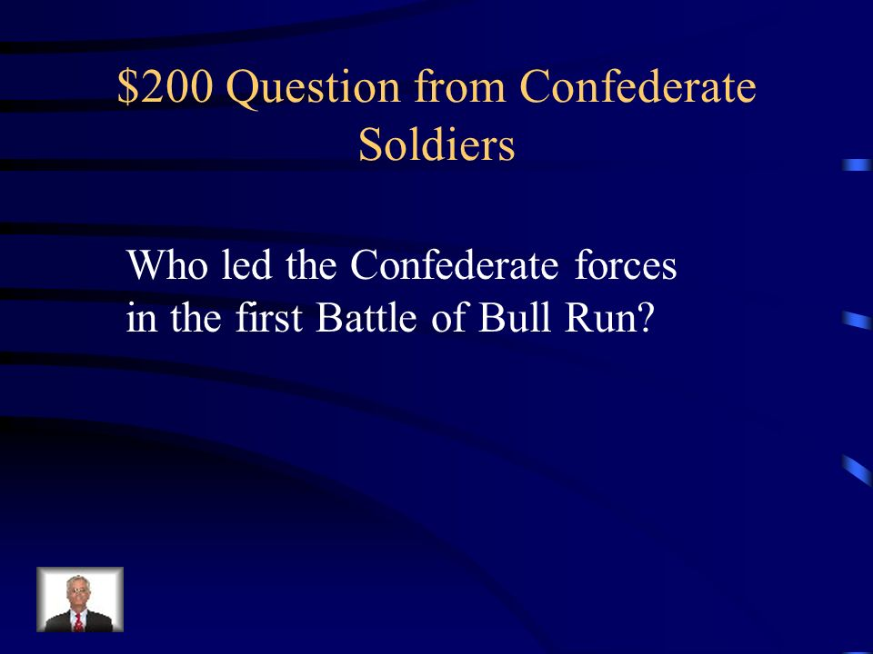 $100 Answer from Confederate Soldiers Who is Robert E. Lee