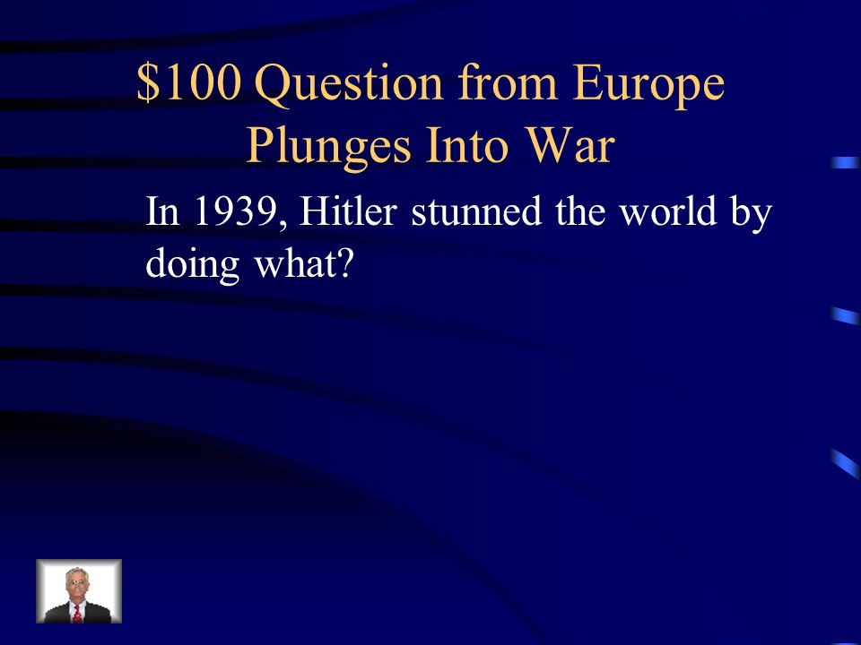 $500 Answer from Spanish Civil War Who were Hitler and Mussolini