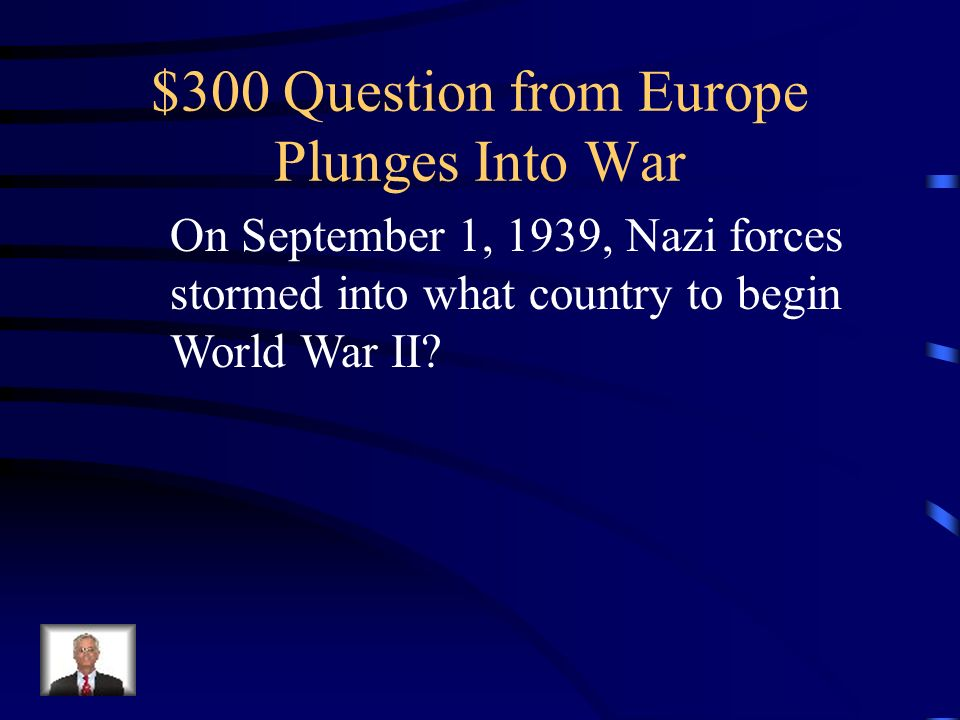 $200 Answer from Europe Plunges Into War What is a Lightning War