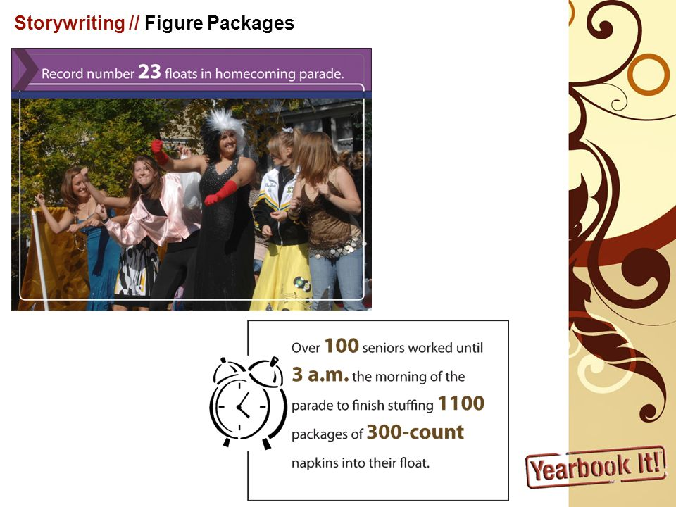 Storywriting // Figure Packages