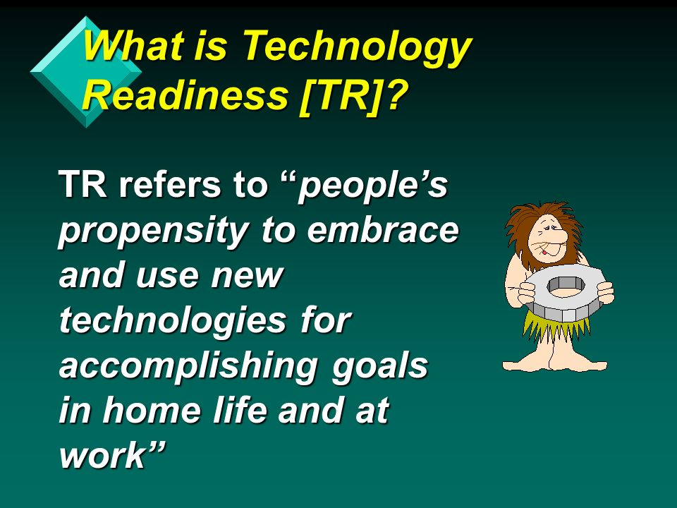 What is Technology Readiness [TR].