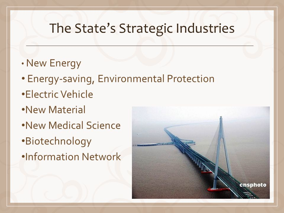The States Strategic Industries New Energy Energy-saving, Environmental Protection Electric Vehicle New Material New Medical Science Biotechnology Information Network