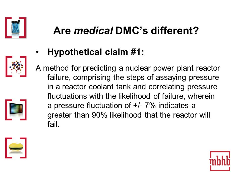 Are medical DMCs different.