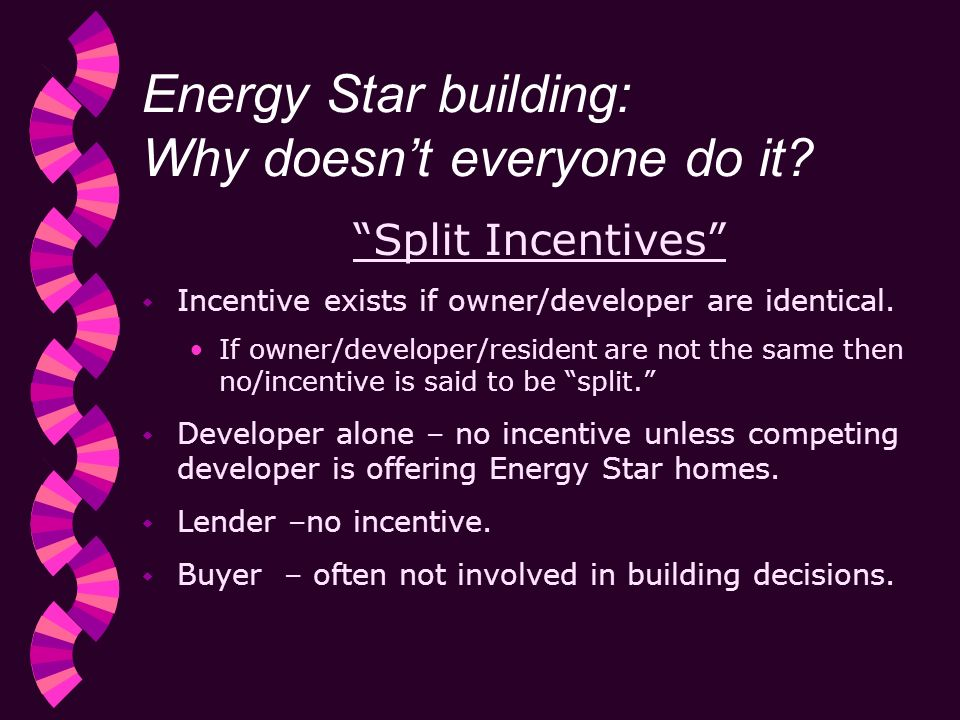 Energy Star building: Why doesnt everyone do it.