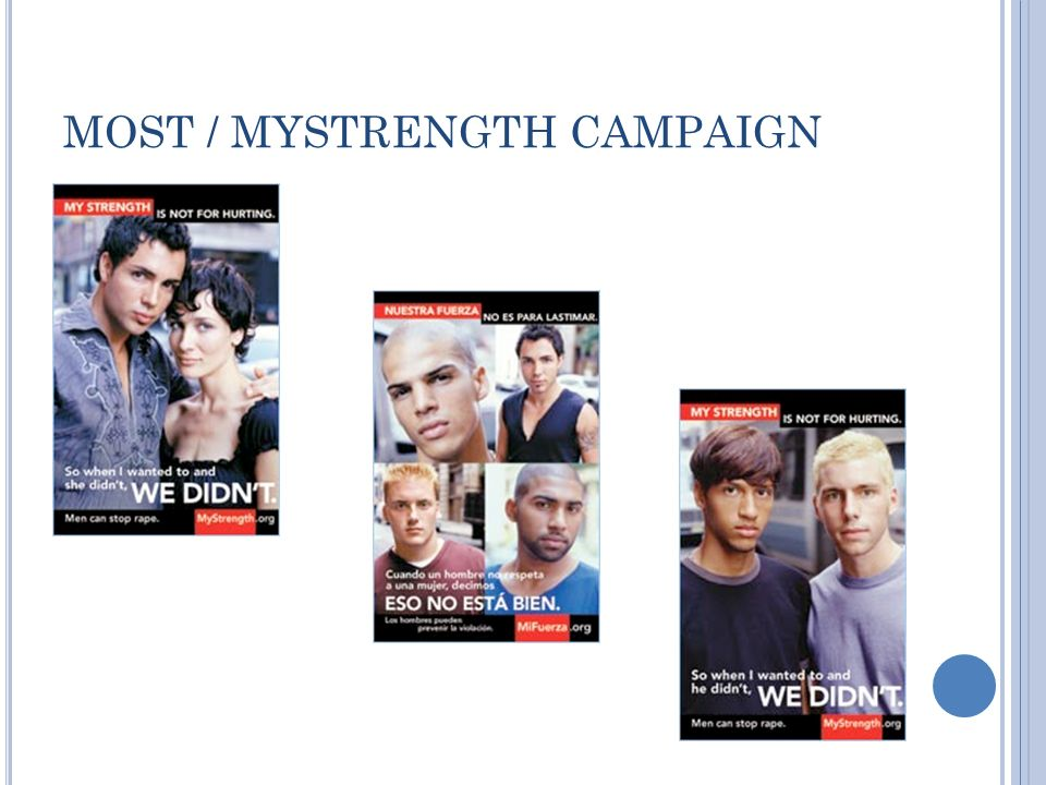 MOST / MYSTRENGTH CAMPAIGN