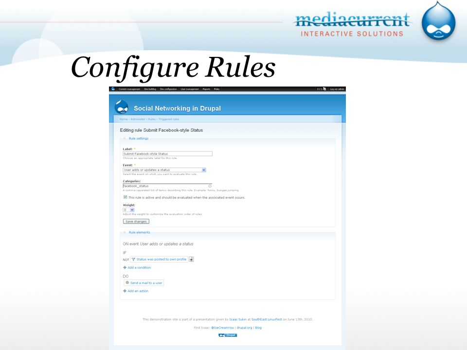 Configure Rules