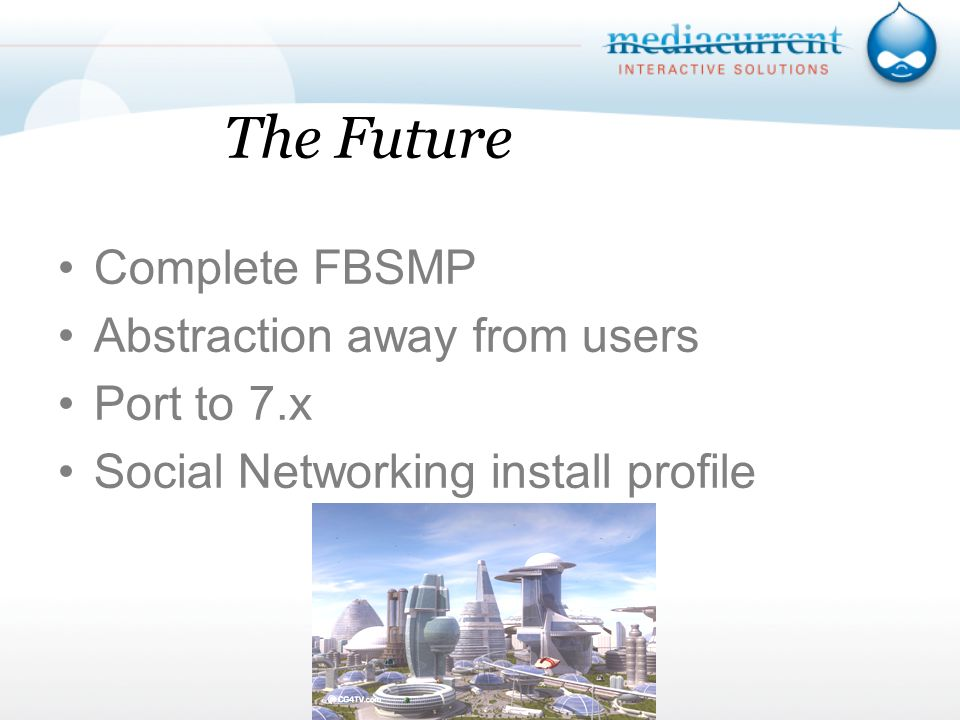 The Future Complete FBSMP Abstraction away from users Port to 7.x Social Networking install profile