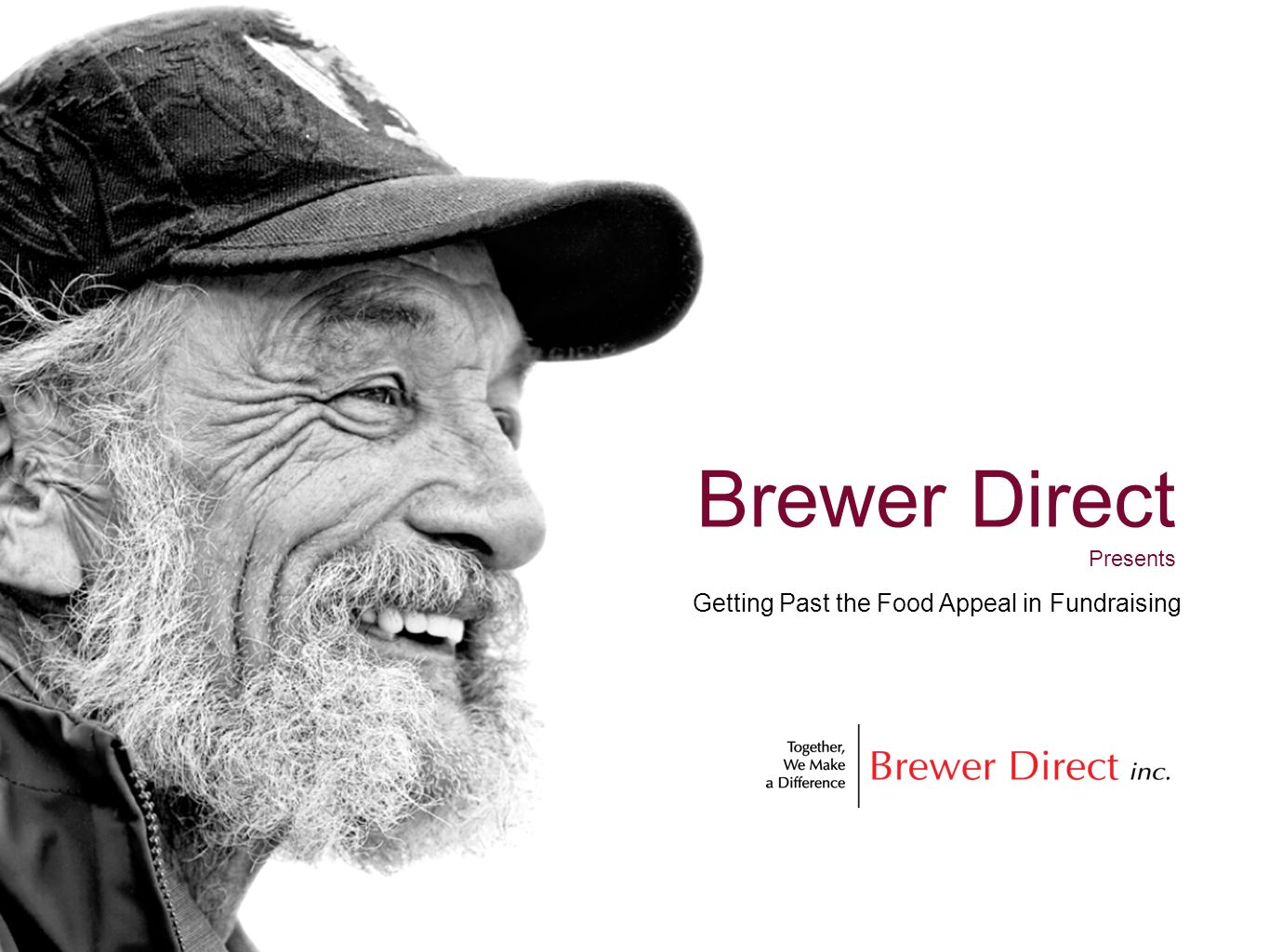 Brewer Direct Presents Getting Past the Food Appeal in Fundraising