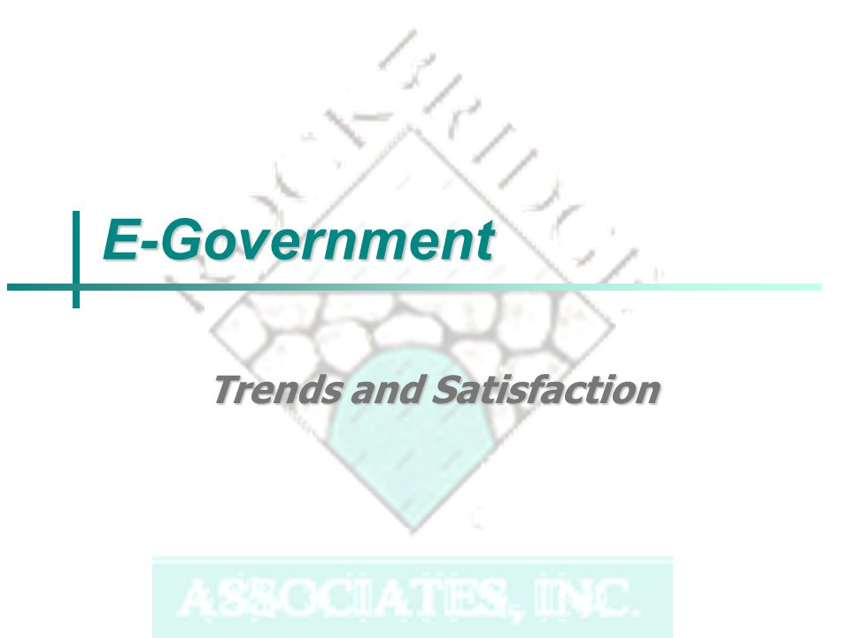 E-Government Trends and Satisfaction