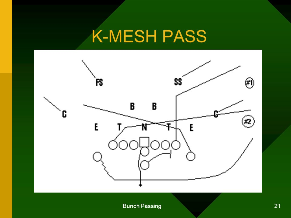 Bunch Passing 21 K-MESH PASS