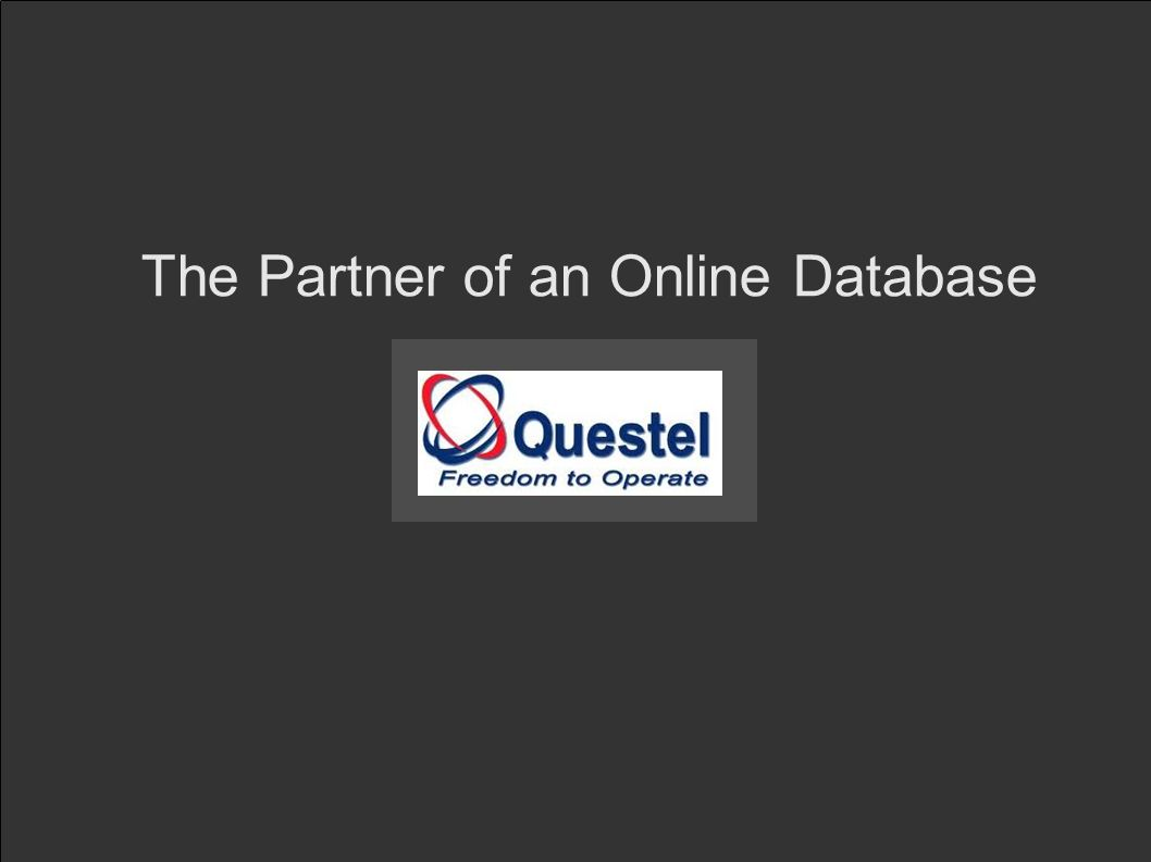 The Partner of an Online Database