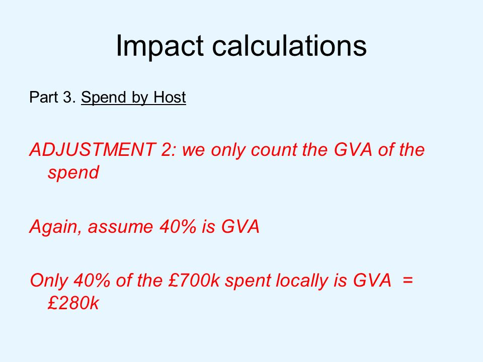 Impact calculations Part 3.
