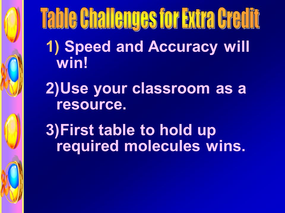 1) Speed and Accuracy will win. 2)Use your classroom as a resource.