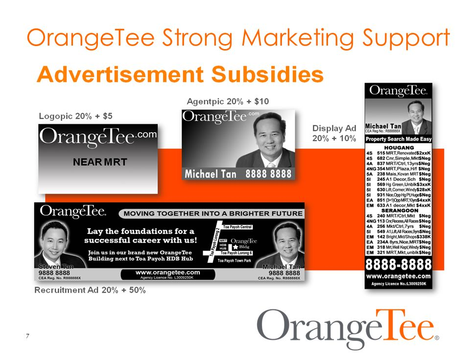 OrangeTee Strong Marketing Support 7