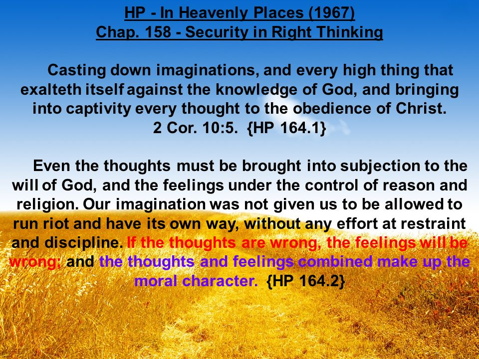 HP - In Heavenly Places (1967) Chap.