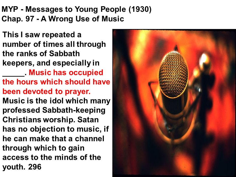This I saw repeated a number of times all through the ranks of Sabbath keepers, and especially in _____.