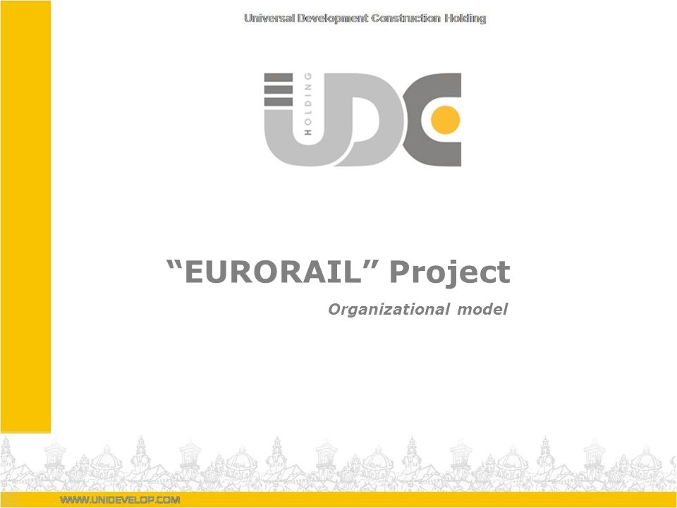 EURORAIL Project Organizational model