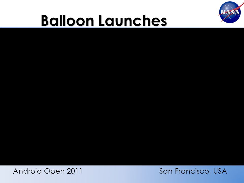 Balloon Launches Android Open 2011San Francisco, USA