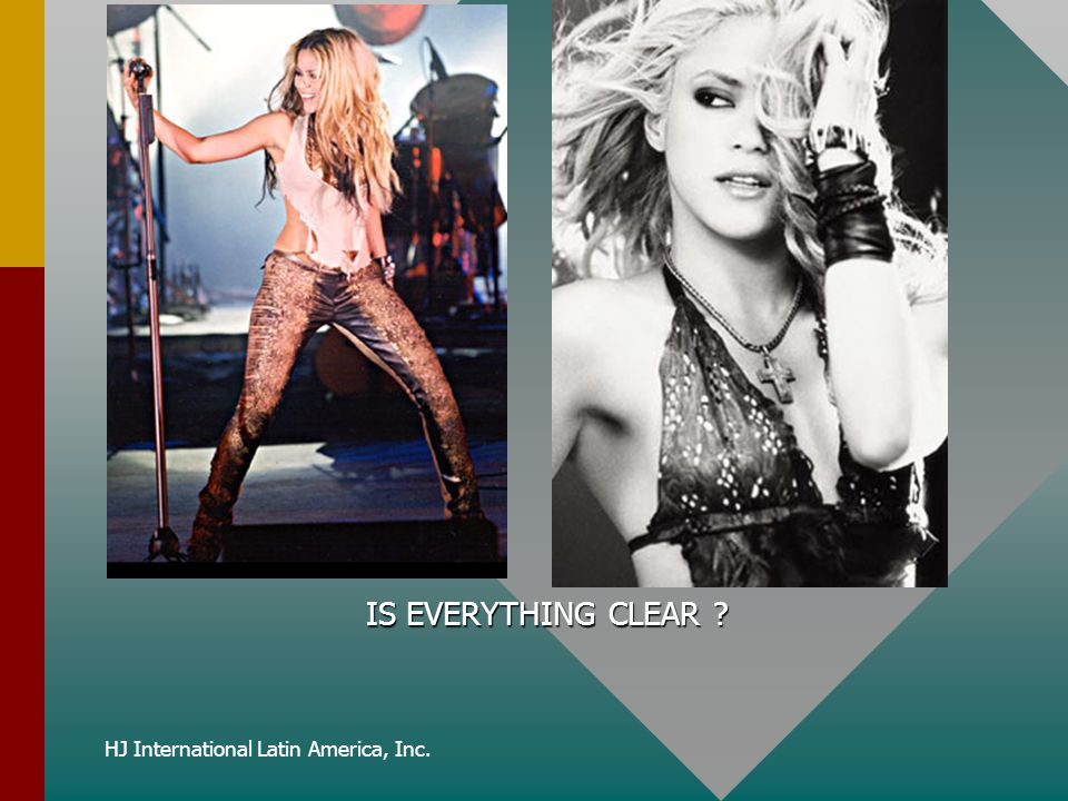 HJ International Latin America, Inc. IS EVERYTHING CLEAR