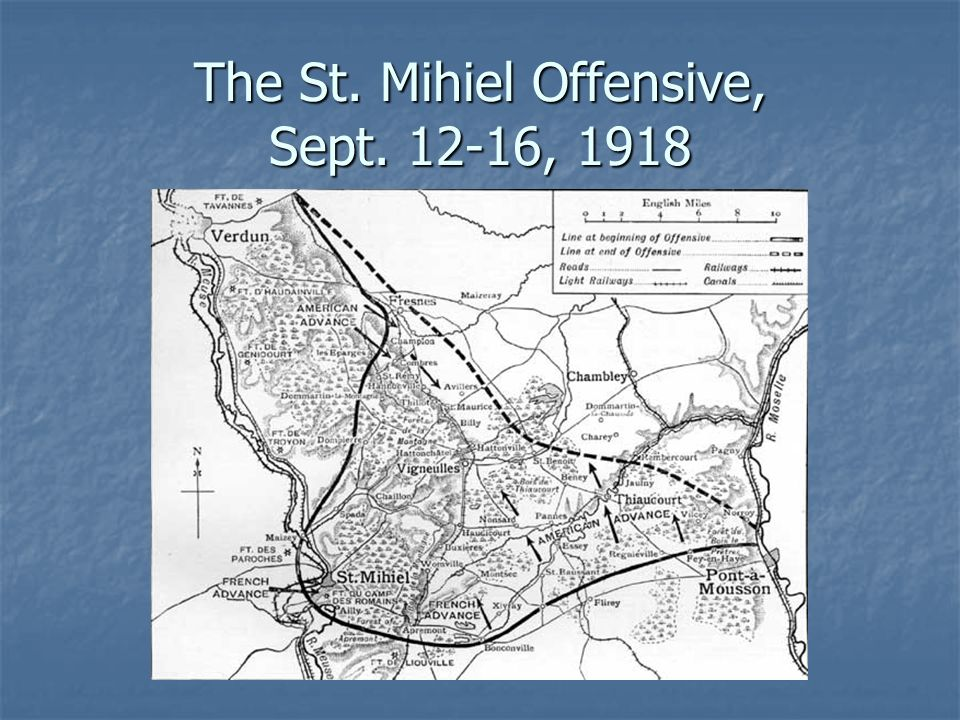The St. Mihiel Offensive, Sept. 12-16, 1918