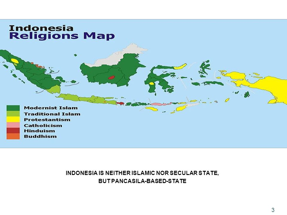 INDONESIA IS NEITHER ISLAMIC NOR SECULAR STATE, BUT PANCASILA-BASED-STATE 3