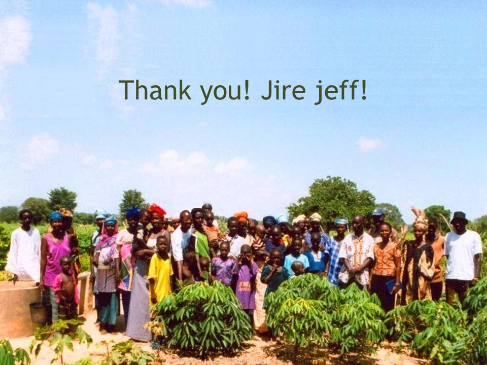 Thank you! Jire jeff!